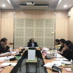 การประชุมคณะกรรมการบริหารความเสี่ยงและควบคุมภายใน ครั้งที่ 3/2560