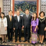 """""""ประพัฒน์""""เข้าพบฑูตจีนวางแผนการผลิตสินค้าเกษตรสร้างความยั่งยืนให้เกษตรกรทั้งสองประเทศ"""
