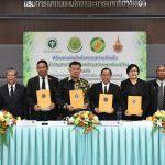 สภาเกษตรกรฯลงนามความร่วมมือนำความรู้ด้านการวิจัยและพัฒนานำกัญชามาใช้ประโยชน์ทางการแพทย์แผนไทย