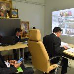 สำนักงานสภาเกษตรกรแห่งชาติจัดการประชุมทางไกล ครั้งที่ 1/2563