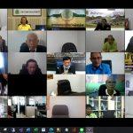 สภาเกษตรกรแห่งชาติจัดประชุมระบบทางไกล ผ่านสื่ออิเล็กทรอนิกส์ ครั้งที่ 2/2563