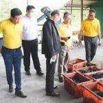 สภาเกษตรกรจังหวัดลำปางต้อนรับรัฐมนตรีกระทรวงพลังงานเพื่อดูความพร้อมพื้นที่ก่อตั้งโรงไฟฟ้าชุมชนนำร่อง