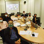 ประชุมคณะกรรมการดำเนินการสหกรณ์ออมทรัพย์สำนักงานสภาเกษตรกรแห่งชาติ จำกัด ครั้งที่1/2564